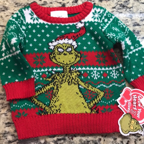 0fcacd0fe Dr. Seuss Shirts & Tops | New The Grinch Sweater | Poshmark